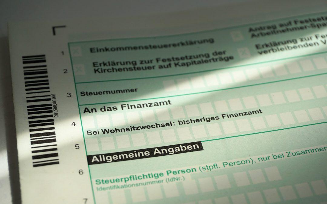 Hilfe beim Ausfüllen der Steuererklärung